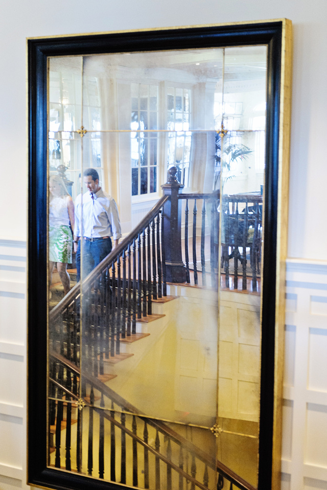 The original mirror from the first Ocean House